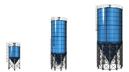 Vertical silo systems - Modular design - Bolted panels